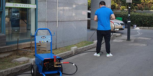 超高压清洗机常见故障及解决方法