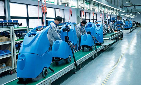 现代化生产线
