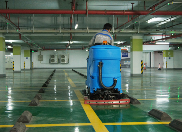 苏宁集团总部清洁设备案例
