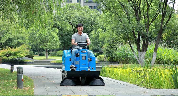 物业保洁清洗方案-路面清扫-南京嘉得力
