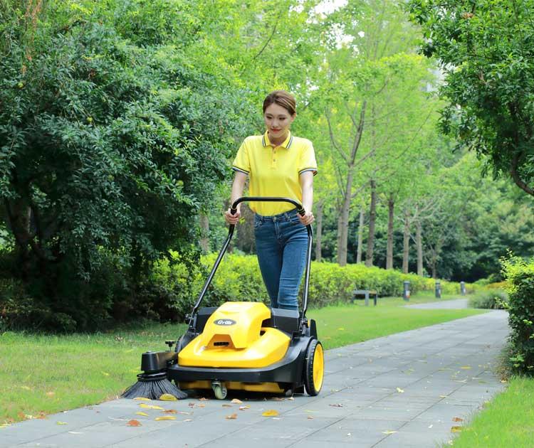 物业保洁清洗方案-南京嘉得力提供扫地机组合型解决方案